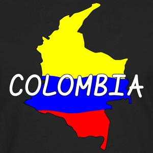 Colombia T-Shirts - Men's Premium Long Sleeve T-Shirt