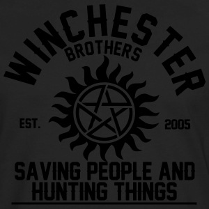 winchester brothers T-Shirts - Men's Premium Long Sleeve T-Shirt