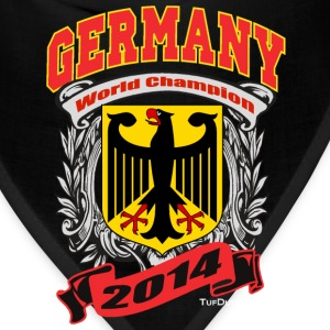 Germany 2014 Mens Black - Bandana