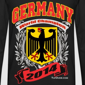 Germany 2014 Mens Black - Men's Premium Long Sleeve T-Shirt