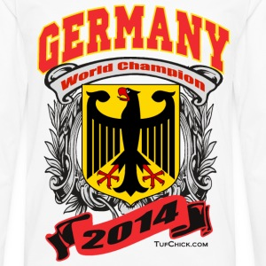 Germany 2014 Womens White - Men's Premium Long Sleeve T-Shirt