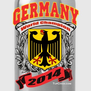 Germany 2014 Womens Black - Water Bottle