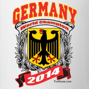 Germany 2014 Mens White - Coffee/Tea Mug