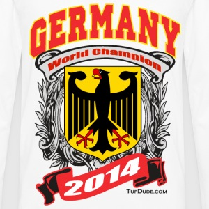 Germany 2014 Mens White - Men's Premium Long Sleeve T-Shirt