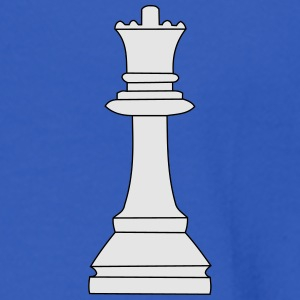 Queen, chess queen Polo Shirts - Men's Long Sleeve T-Shirt
