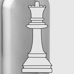 Queen, chess queen Polo Shirts - Water Bottle