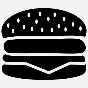 Burger T-Shirts - Men's Premium Tank