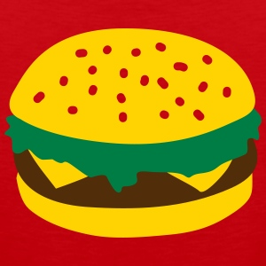 Burger Kids' Shirts - Men's Premium Tank