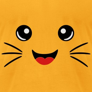Neko Face Bags & backpacks - Men's T-Shirt by American Apparel
