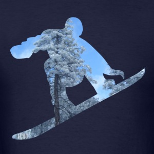 Snowboarder - Men's T-Shirt