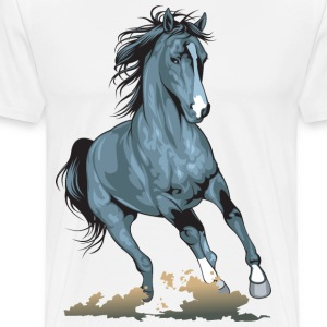 Horse Hoodies - Men's Premium T-Shirt