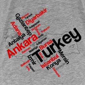 Turkey Long Sleeve Shirts - Men's Premium T-Shirt