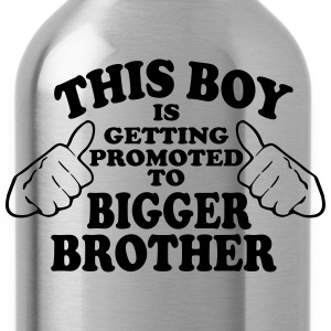 Promoted to Bigger Brother Kids' Shirts - Water Bottle