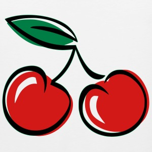 Cherries T-Shirts - Men's Premium Tank