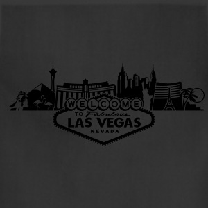 Las Vegas Skyline Golden Edition - Adjustable Apron