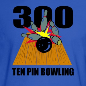 Bowling Ten Pin Hoodies - Men's Long Sleeve T-Shirt