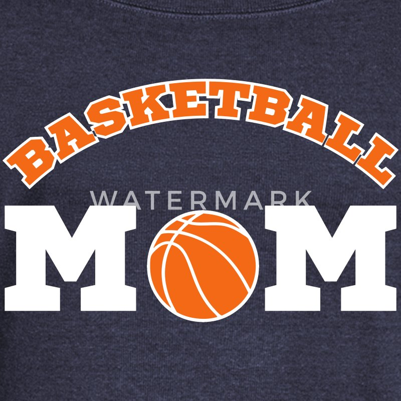 Basketball Mom Long Sleeve Shirts - Women's Wideneck Sweatshirt