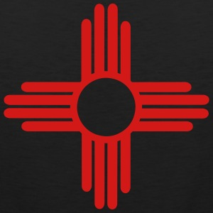Native American Sun Symbol T-Shirts - Men's Premium Tank