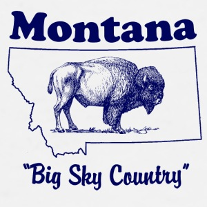 Montana Big Sky Country Coffee Mug - Men's Premium T-Shirt