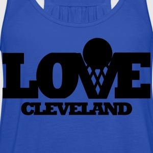 Love Cleveland T-Shirts - Women's Flowy Tank Top by Bella