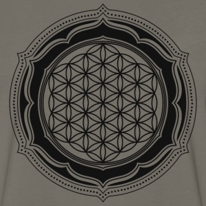 Flower of Life, Spiritual Healing Symbol T-Shirts - Men's Premium Long Sleeve T-Shirt