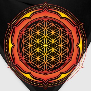 Flower of Life, Energy Symbol, Sacred Geometry T-Shirts - Bandana