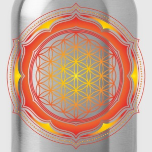 Flower of Life, Energy Symbol, Sacred Geometry T-Shirts - Water Bottle