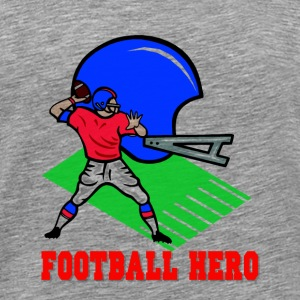 Football Hero Sweatshirts - Men's Premium T-Shirt