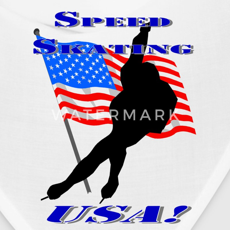 Speed Skating USA Caps - Bandana