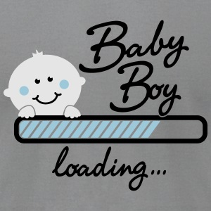 Baby Boy loading... Long Sleeve Shirts - Men's T-Shirt by American Apparel