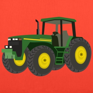 Green Tractor - Tote Bag