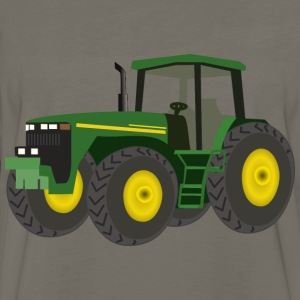 Green Tractor - Men's Premium Long Sleeve T-Shirt