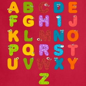 Alphabet Letters - Adjustable Apron