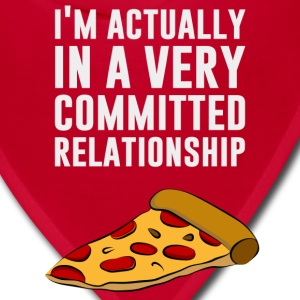 Pepperoni Pizza Love - A Serious Relationship Women's T-Shirts - Bandana