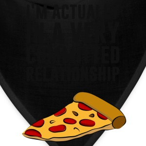 Pepperoni Pizza Love - A Serious Relationship T-Shirts - Bandana