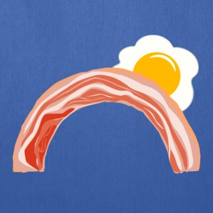 Bacon and Eggs Rainbow T-Shirts - Tote Bag