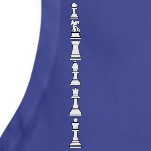 Pawns, chessmen, chess pieces Polo Shirts - Adjustable Apron
