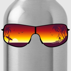 Summer Sunglasses Long Sleeve Shirts - Water Bottle
