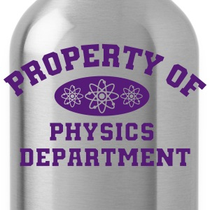 Property Of Physics Department T-Shirts - Water Bottle