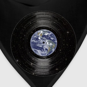 Earth In Space Vinyl LP Record T-Shirts - Bandana