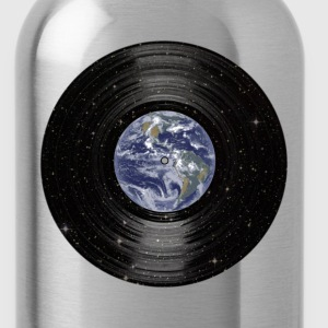 Earth In Space Vinyl LP Record T-Shirts - Water Bottle