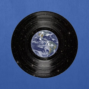 Earth In Space Vinyl LP Record T-Shirts - Tote Bag