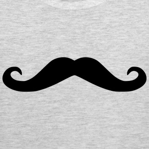 Mustache girls t-shirt - Men's Premium Tank