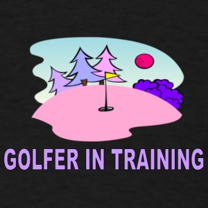 Golfer in Training Baby & Toddler Shirts - Men's T-Shirt