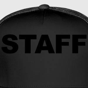 Staff T-Shirt Black - Trucker Cap