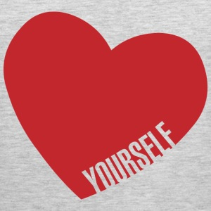 Love Yourself T-Shirts - Men's Premium Tank