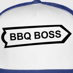 BBQ, Barbecue, cook, chef, meat, Boss, sausage T-Shirts - Trucker Cap