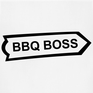 BBQ, Barbecue, cook, chef, meat, Boss, sausage T-Shirts - Adjustable Apron