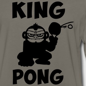 king pong T-Shirts - Men's Premium Long Sleeve T-Shirt