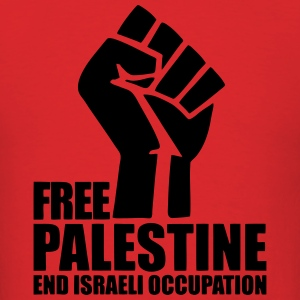 Free Palestine End Israeli Occupation Hoodies - Men's T-Shirt